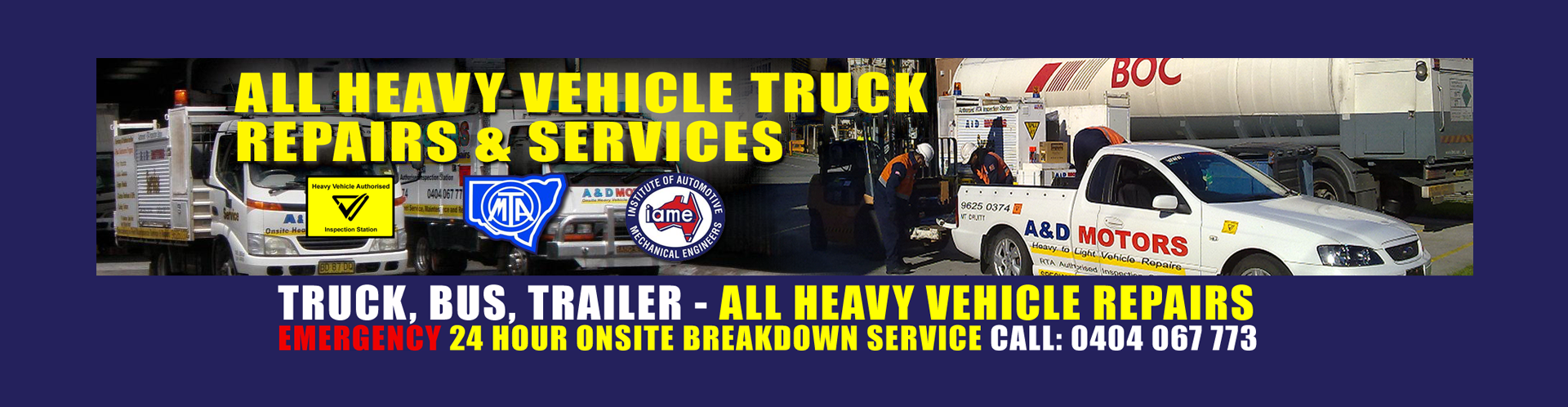 After Hours Truck Repairs Sydney